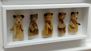 Sooty, childhood memories, puppet, bears, Royal Academy Summer Exhibition 2018